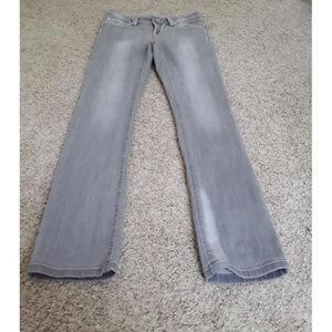Boston Proper Jeans - Boston Proper Gray Embellished Jeans